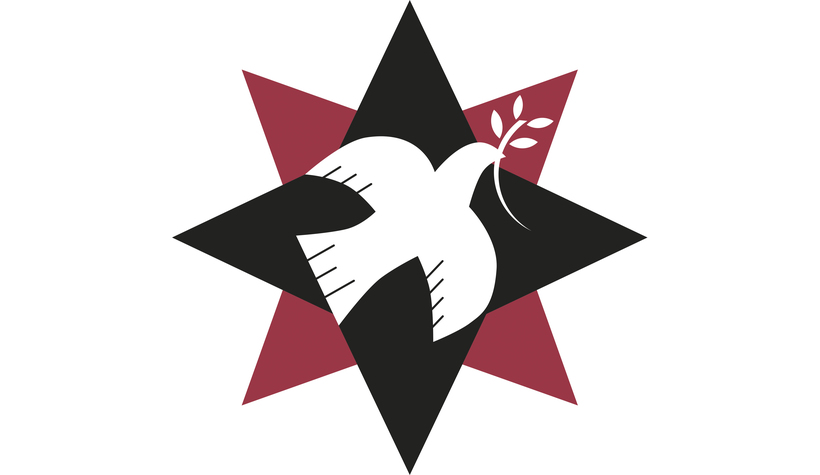 QPSW logo star with a dove