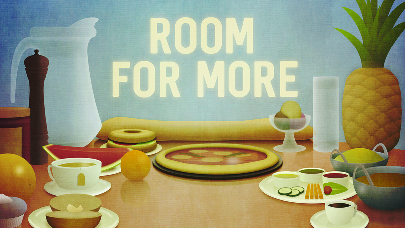 'Room for more' is the theme of this year's Quaker Week. Image: BYM
