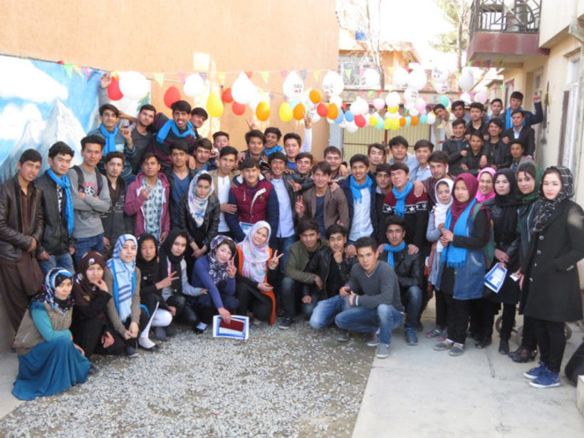 Afghan Peace Volunteers. Image: Voices for Creative Nonviolence