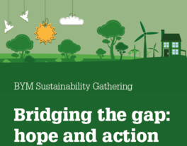 BYM Sustainability Gathering. Bridging the gap: hope and action