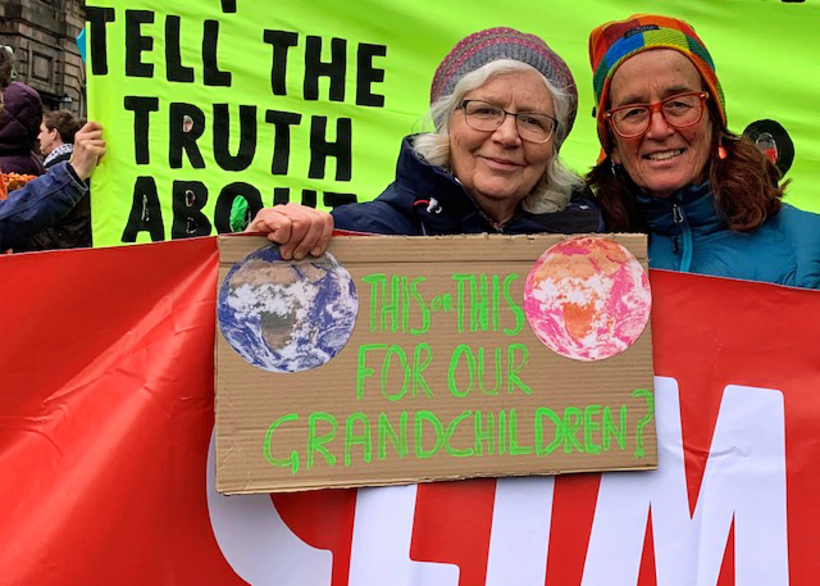 extinction rebellion quakers edinburgh