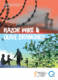 Front cover of Razor Wire & Olive Branches
