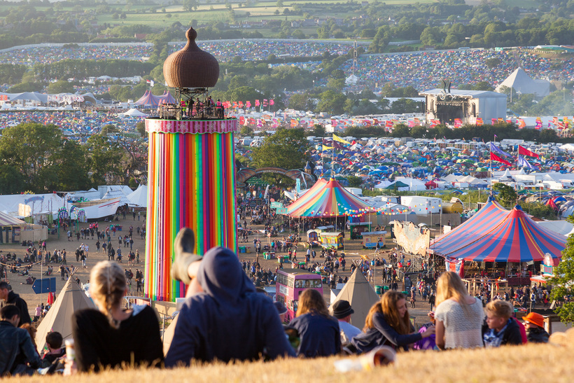 Glastonbury festival: a place to (re)connect with Quakerism? Photo: Shutterstock