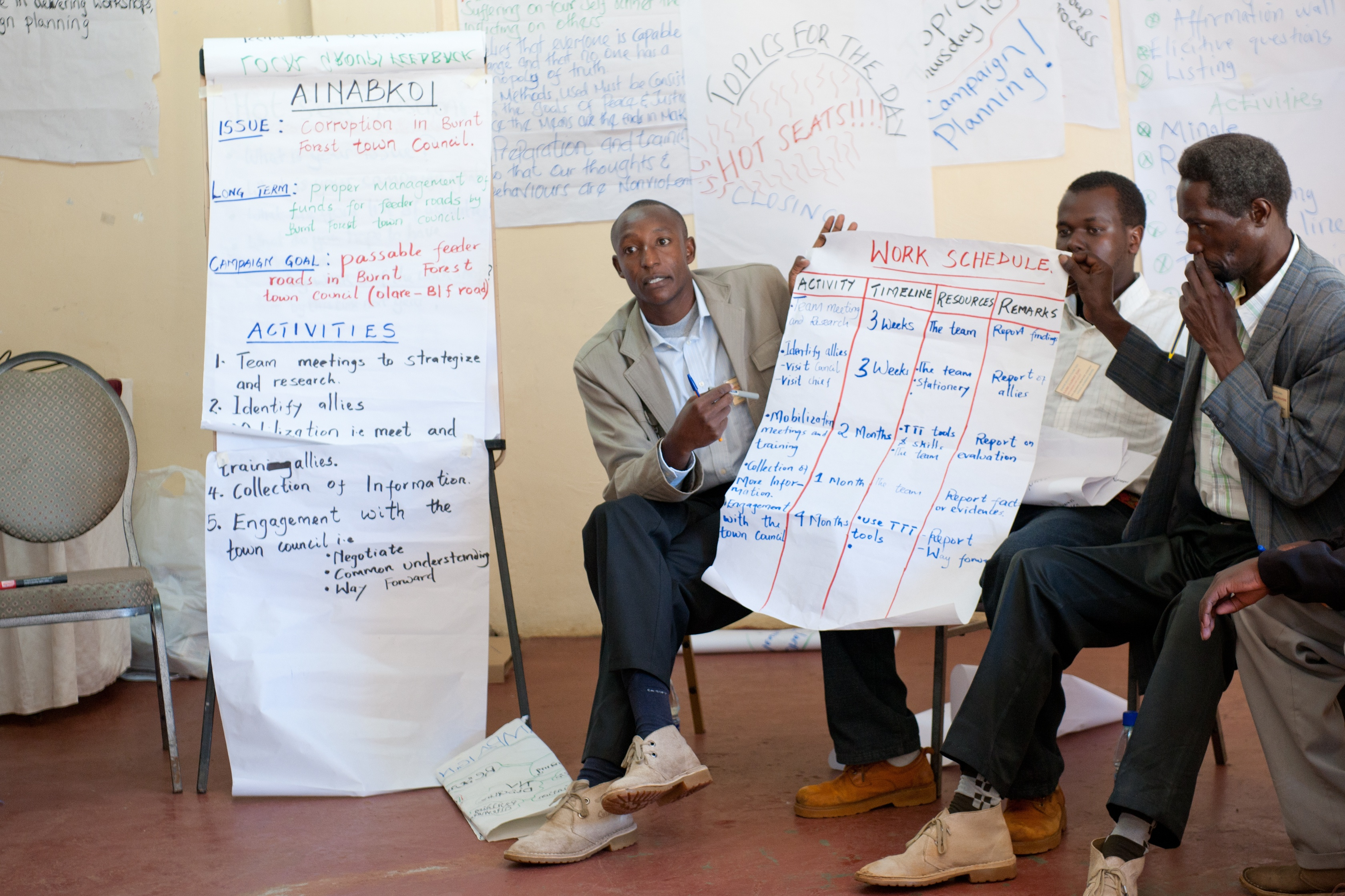 Peacebuilders in East Africa expand their programme